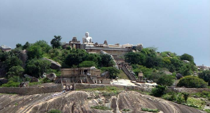 Jain's holy place Sravanabelagola