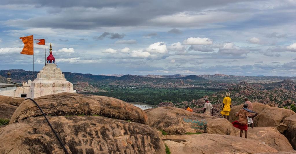The birth place of lord Hanuman ..